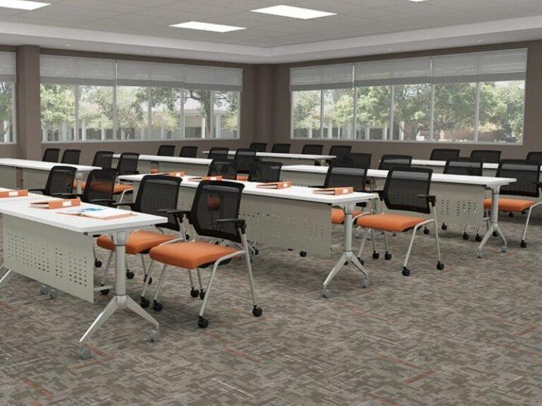 Beniia Contract Orange Chairs